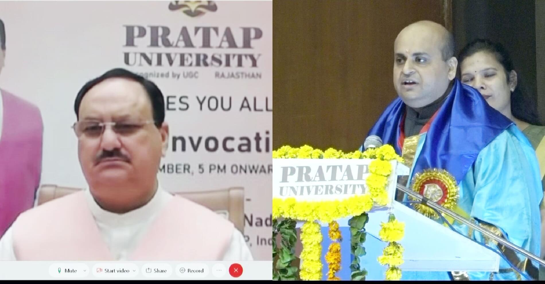 Shailendra Bhadauria Chairman at  Pratap University